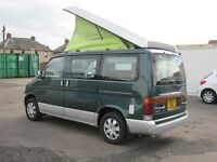 1995 Mazda Bongo Campervan +FULL YEAR MOT+ ANY INSPECTION WELCOME+full set new brakes +full service+