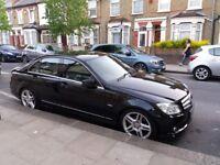 Mercedes C class C200 CDI Bluefficiency AMG sport.Diesel 2.1 L