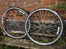 Pair Of AlexRims R500 Felt 700c Racing Bike Wheels