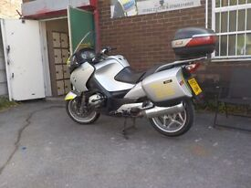 bmw r1200 rt lovely bike for touring we can also do your training to full licence if needed