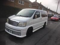 Nissan elgrand rider Petrol v6 top spec may swap px 7 seater