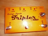 George Lynch Tripler amp switcher pedal