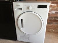NEW CONDITION HOTPOINT CONDENSER WHITE TUMBLE DRYER