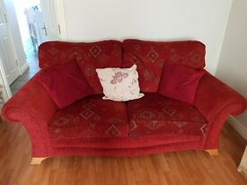3 seater sofa & 2 1 seaters for sale