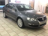 !!HIGHLINE!! 2008 VW PASSAT 2.0 TDI MANUAL / FULL LEATHER / 12 MONTHS MOT / HEATED SEATS / SERVICED