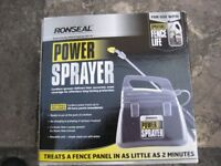 RONSEAL CORDLESS ELECTRIC FENCE SPRAYER