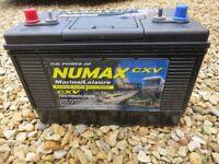 Numax CXV31MF Sealed Leisure ' Deep Cycle ' Battery 12V 110Ah 1000MCA boat caravan marine