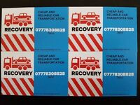 24/7 WEST LONDON & UK CAR AND SMALL VAN BREAKDOWN RECOVERY AND TRANSPORTATION