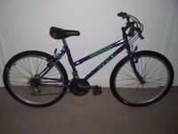 """Ladies/Womens Zed Tempest 17.5"""" Mountain Bike (will deliver)"""