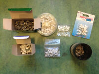 Cable clips, Castors, Ikea hinges and fixings, Kitchen drawer dampers