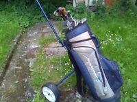 Left hand Golf clubs set