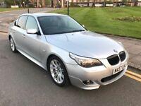 57 REG BMW 535D M SPORT AUTO LCI E60 SAT NAV ONLY 67K VERY CLEAN NOT 320D 325D 520D 525D 530D X5 A6