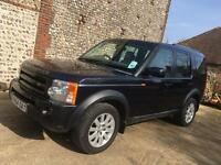 Land Rover discovery 3 tdv6 turbo diesel 7 seater 4x4 px swap possible