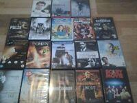 Joblot of over 50 dvds