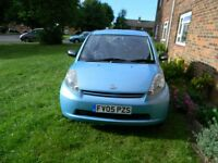 Daihatsu sirion 1.0 made by Toyota MOT TAX FSH