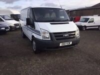 2011 TRANSIT 140 T330M FWD LOVELY CLEAN VAN WITH DOUBLE SIDE LOADERS DRIVERS SUPERB ANY TRIAL