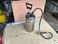 High pressure sprayer, metal, good condition
