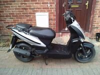 2012 Kymco Agility 50 automatic scooter, new 12 months MOT, good runner, decent condition,