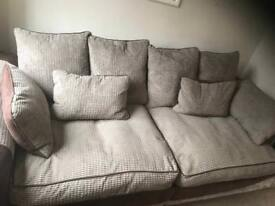 Harvey's 4 seater sofa