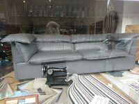 Ox leather sofa by Jens Juul Eilersen