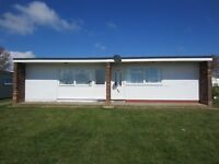 THREE HOLIDAY CHALETS TO HIRE OCTOBER £100