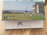 Golf Gift Experience Day at St Andrews 18 Holes play with a Professional