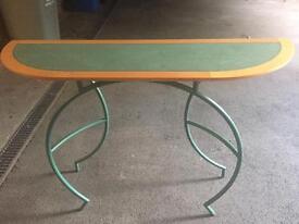 Italian unique design console table