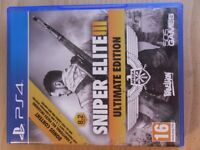 PlayStation 4 Sniper Elite III Ultimate Edition