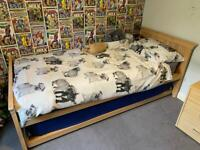 M&S TRUNDLE BED FRAME
