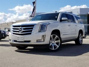 2015 Cadillac Escalade ESV Premium | Rear DVD | Power Steps | Su