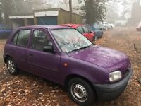 Nissan Micra Shape 998cc Petrol Automatic 5 door hatchback P Reg 24/10/1996 Purple