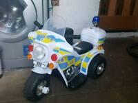 6v police bike