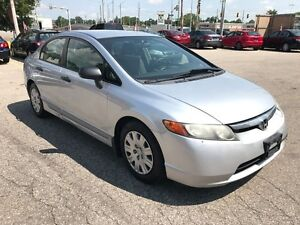 2007 Honda Civic DX-G/NO ACCIDENT/SAFETY/WARRANTY INCLUDED