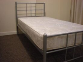 Single Bed with Mattress For Sale
