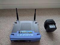 Linksys WRT54G wireless router