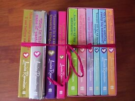 Set of Angus thongs books by Louise Rennison