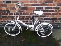Used folding bike with mint condition