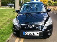 Hyundai i10 2009/59 only low mileage,fsh,2 keys,same family owner! P-ex welcome,aa/rac welcome