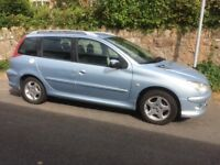 Peugeot 206 SW Estate for spares or repair