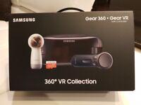 Samsung 360 VR gear collection