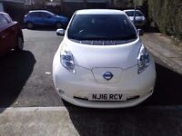 2016 Nissan LEAF Tekna 30kW [6.6kW Charger] Battery owned. Reduced for quick sale
