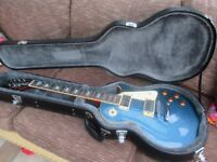 Epiphone Les Paul Guitar with custom hard case - excellent condition