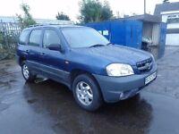 2004(53) Mazda Tribute 4x4 2.0 Petrol MOT'd Jan17 £495