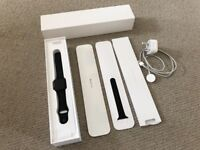 Apple Watch series 2 38mm - space grey aluminium with sports band - boxed