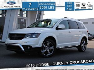2016 Dodge Journey CROSSROAD**AWD*7 PLACES*CUIR*TOIT*NAVI*A/C**
