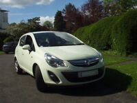 2013 vaukhall corsa 1.3. 5 dr hatch ecoflex 'exclusive' 1 own 44k miles