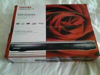 Toshiba new dvds player still boxed