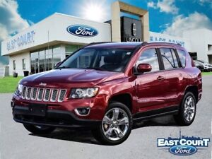 2014 Jeep Compass Limited, $64/wk, roof, leather, backup cam, al