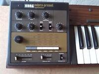 KORG M-500SP Micro-Preset vintage analog synthesizer.