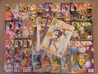 31 X-MEN comics Numbers 3-28, 30-32 a summer special and The Uncanny X-MEN 165.